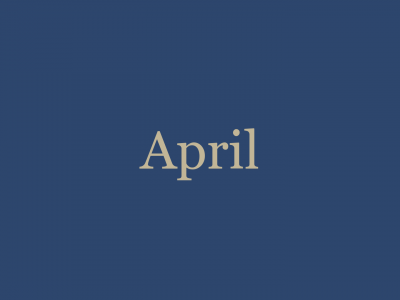April '21