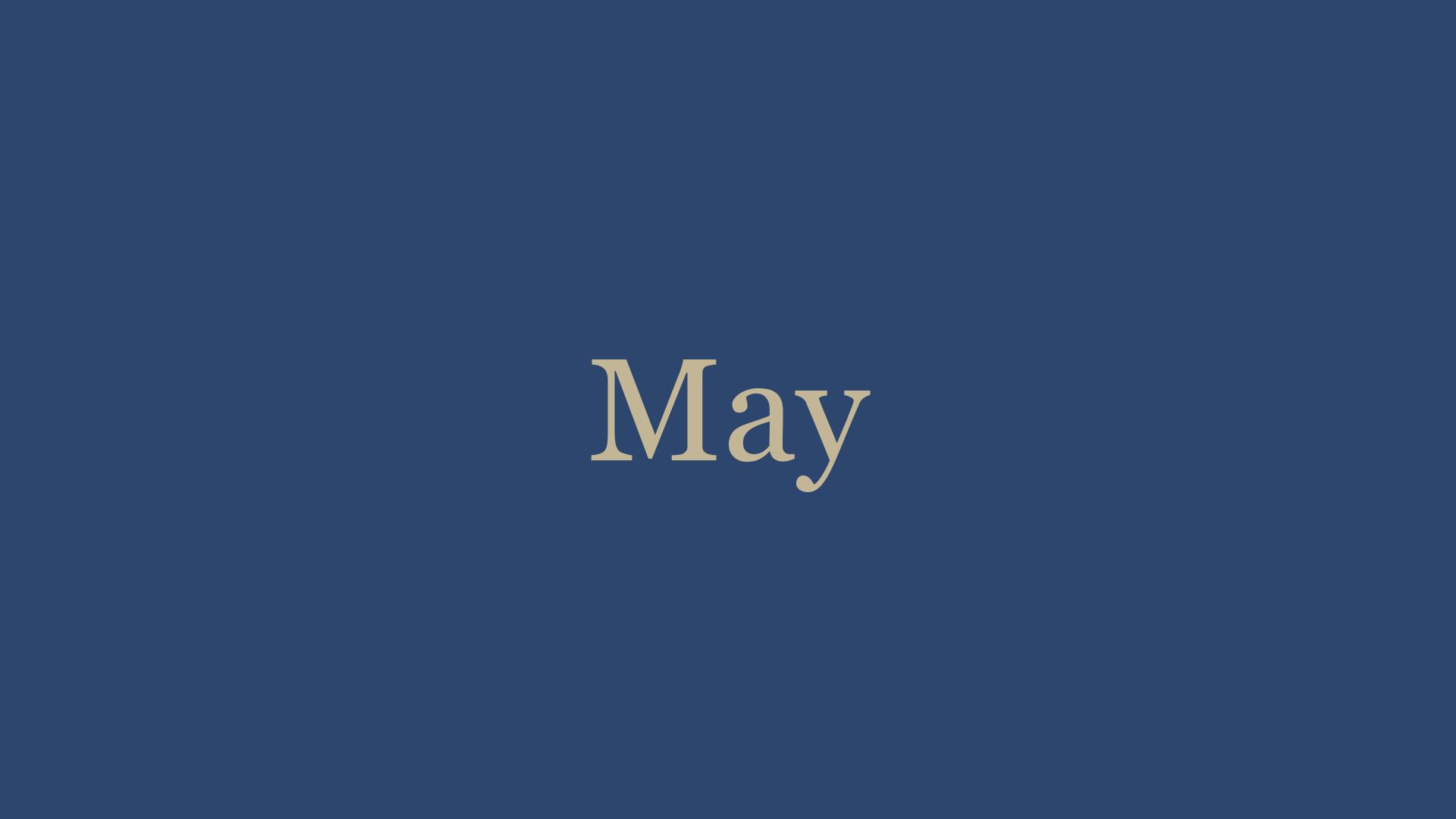 May '21