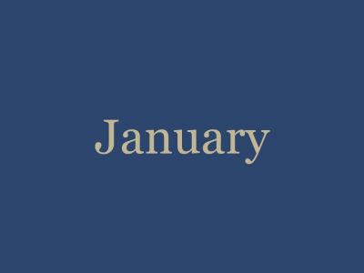 January '21