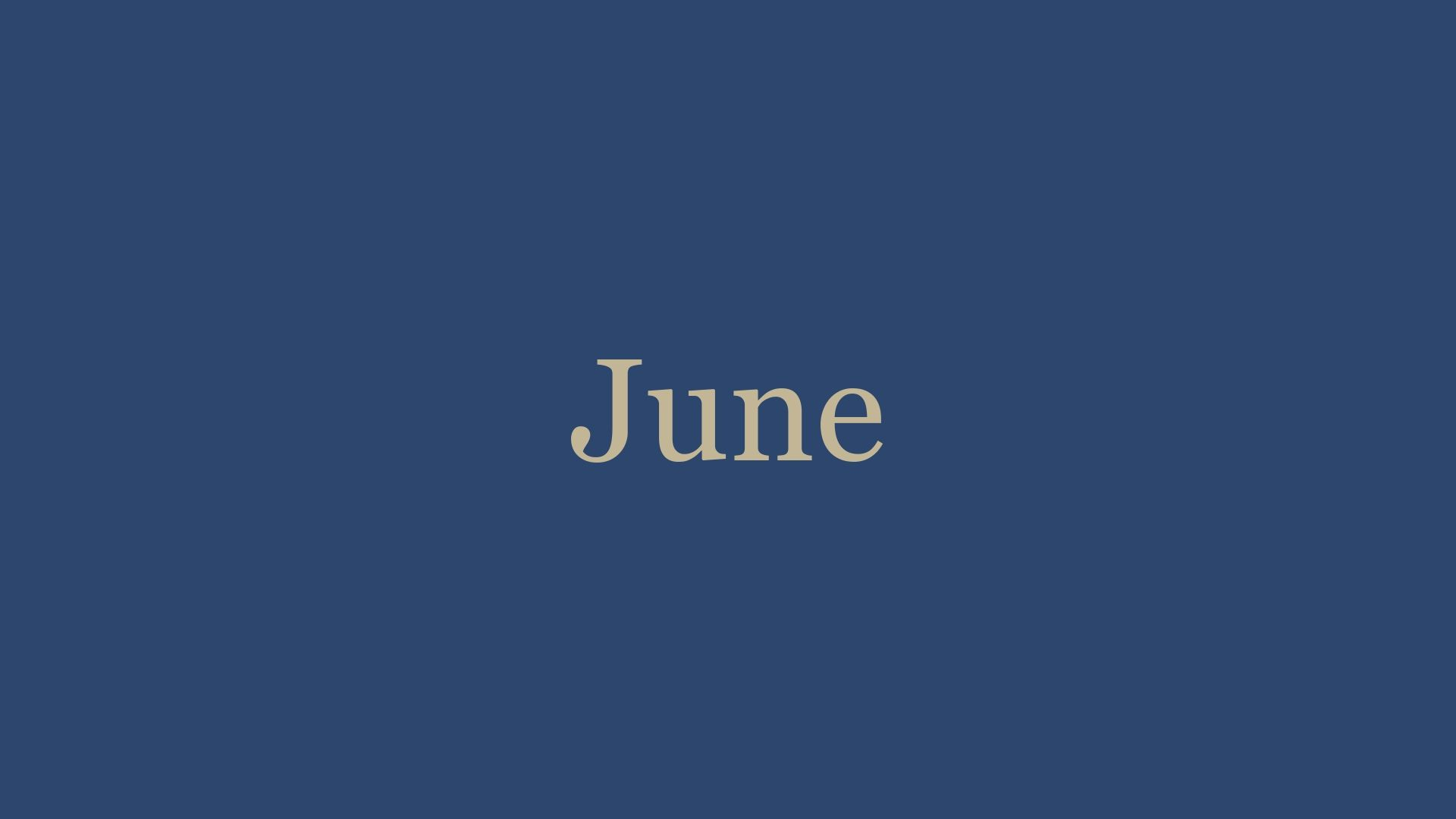 June '21