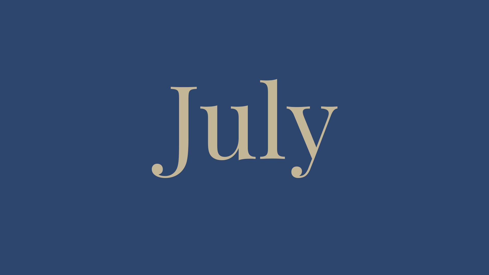July '21