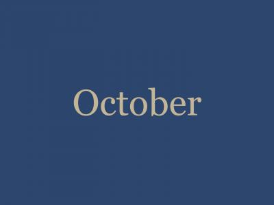 October '20