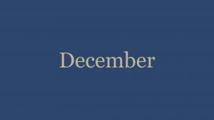 December '20