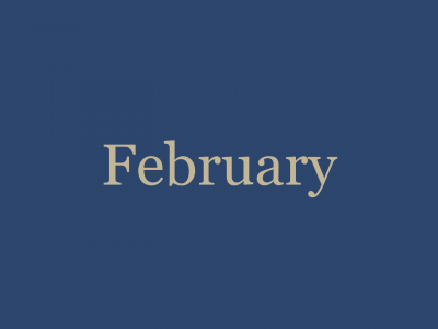 February '21